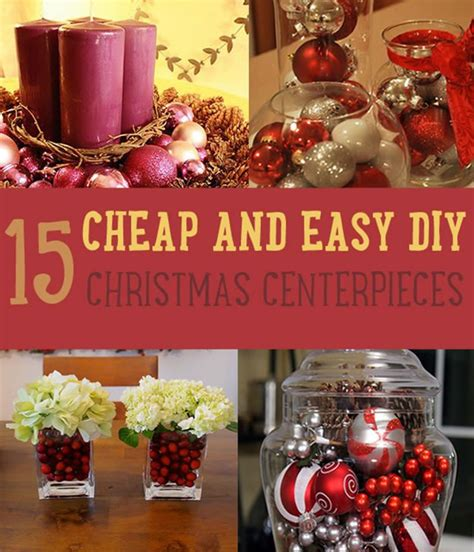 christmas centerpiece ideas diy tutorials