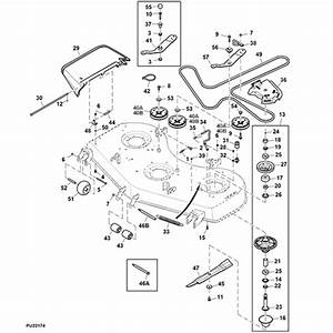 31 John Deere 60 Inch Mower Deck Parts Diagram