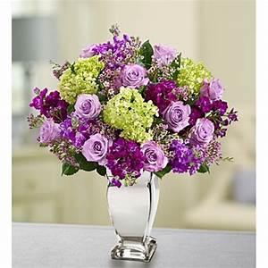 Purple Love Flower Arrangement