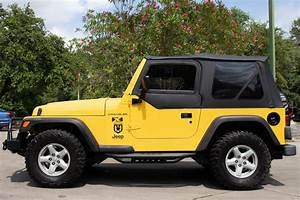 Used 2002 Jeep Wrangler X For Sale   14 995