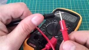 Digital Multimeter Volt Meter Ammeter Ohmmeter Ohm Tester