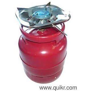 Portable & Mini 4 KG Gas Cylinder with Burner
