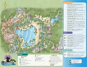 Disney World Typhoon Lagoon Map