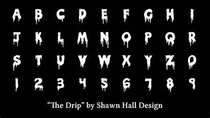 Dripping Letters Drip Lettering Font Fonts Alphabet