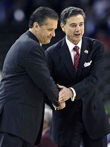 Watch Rick Pitino and John Calipari after the game