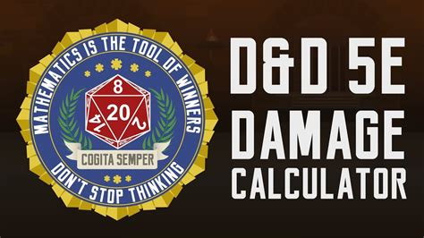When attacking with a weapon, you add your ability modifier—the same modifier used for the attack roll—to the damage. D&D 5e Damage Calculator ~ How to use Anydice - YouTube