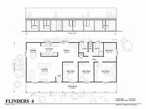 4 bedroom metal home floor plans simple 4 bedroom floor for Simple 4 bed room plan