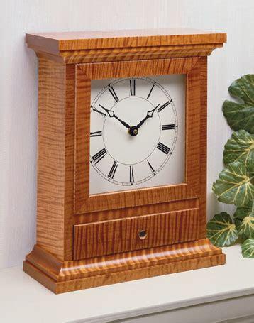 mantel clock woodsmith plans