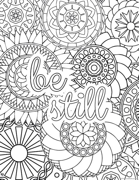 stress relief coloring pages    find  zen