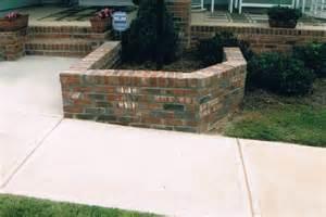 Brick Planter Boxes