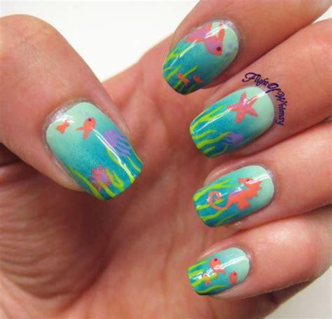 vacation nail art ideas  pinterest beach nail
