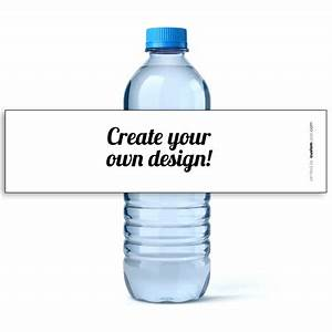 Personalized water bottle labels design your own water for How to put labels on water bottles