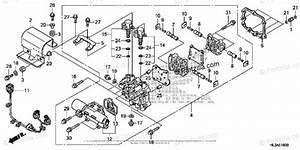 Honda Side By Side 2018 Oem Parts Diagram For Main Valve