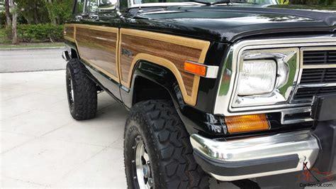 1989 jeep wagoneer lifted 1989 jeep grand wagoneer 360 4x4 lifted amazing eye