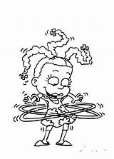 Rugrats Colorear Para Coloring Pages Los Imprimir Dibujos Pintar Printable Clever sketch template