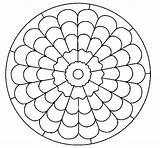 Mandala Mandalas Dibujos Coloring Colorir Pintar Dibujo Colorear Dibujar Colorare Coloriage Desenho Line Sin Colorier Imprimir Coloringcrew Cd Printable Como sketch template