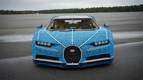 This lego technic bugatti chiron is an engineering feat. Life-Size Bugatti Chiron Made of Legos Actually Runs   Automobile Magazine