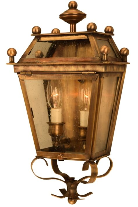 beacon wall sconce electric copper lantern for sale
