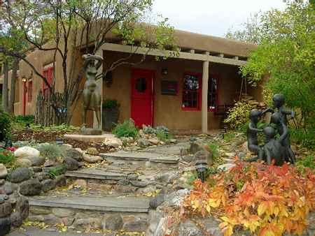 estilo rustico jardines rusticos pueblo style