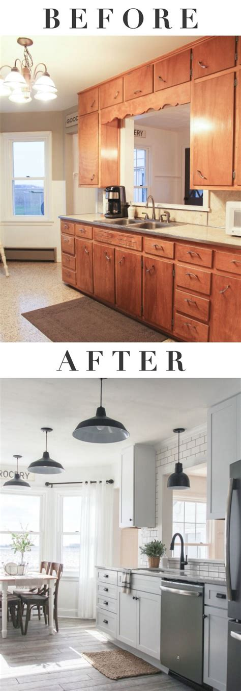 indiana farmhouse   big kitchen makeover click