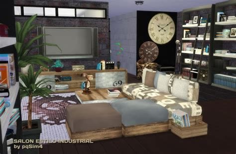 pqsims industrial livingroom sims  downloads
