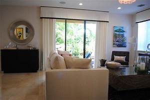 Window treatments for sliding glass doors kitchen modern for Modern window coverings for sliding glass doors