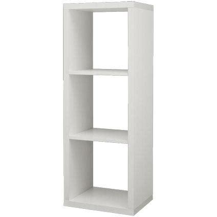 Opbergkasten Voor Buiten Hubo by Decomode Roomdivider 3 Vakken Wit