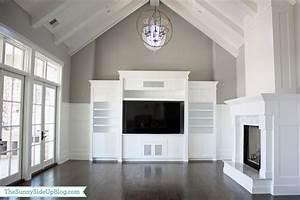 Living Room Vaulted Ceiling Design Ideas