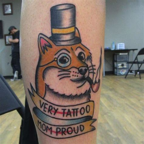 Meme Tatto - 17 best images about dog tattoos on pinterest animal tattoos puppy tattoo and portrait