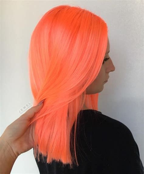 Top 20 Orange Hair Color Ideas Neon Burnt Red And Blonde