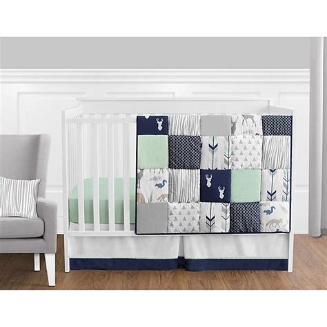 Shop target for sweet jojo designs crib bedding sets you will love at great low prices. Sweet Jojo Designs Woodsy Crib Bedding Collection in Navy ...