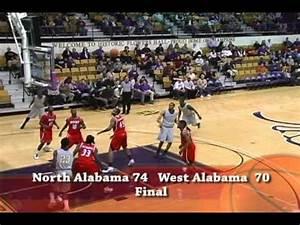 UNIVERSITY OF NORTH ALABAMA LIONS MENS BASKETBALL VS WEST ...