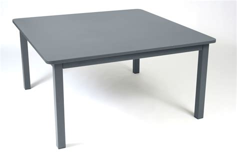 Fillable Craft Table L by Table Craft De Fermob Gris Orage
