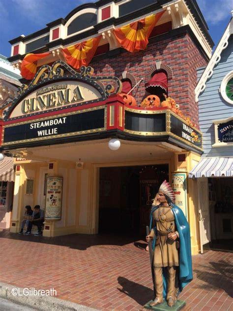 disneylands main street cinema  selling americana