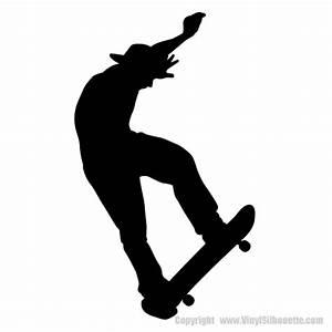 SKATEBOARDING SILHOUETTE WALL DECOR