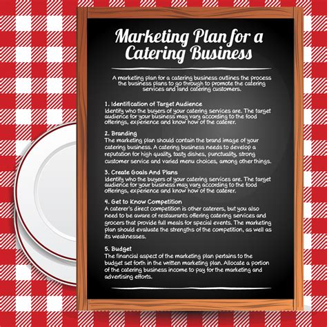 Marketing For Business by Catering Business Marketing Plan Visual Ly