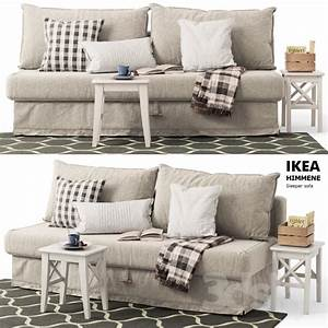 3d models sofa sofa bed himmane ikea sleeper sofa With himmene sofa bed