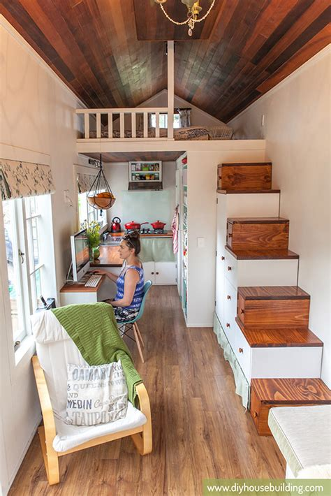 tiny homes interior tiny house pictures in our tiny trailer house one