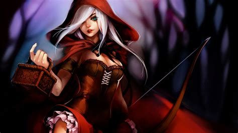 Anime League Of Legends Wallpaper - 21 ashe league of legends wallpapers hd free
