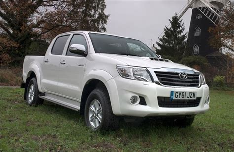 toyota hilux  van review honest john