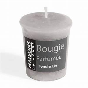 Bougie Parfumée Maison : bougie parfum e grise h 5 cm votive maisons du monde ~ Teatrodelosmanantiales.com Idées de Décoration