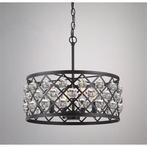 Home Decorators Collection Lighting by Home Decorators Collection Lattice 4 Light Antique Bronze