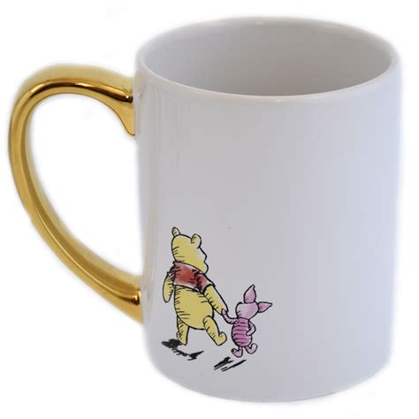 This sweet sculpted ceramic mug features pooh and his pot of hunny. Disney Coffee Mug - Winnie The Pooh and Piglet