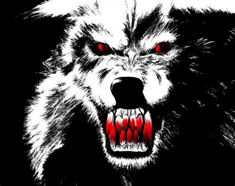 Beast Scary Wolf Wallpaper by Scary Wolf By Dahlia The Project In 2019 Scary