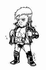 Chibi Wwe Wrestling Balor Finn Reigns Roman Cartoon Coloring Drawing Pages Deviantart Superstars Wrestlers Nxt Dumpster Club Cena John Getdrawings sketch template