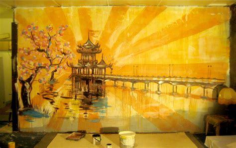 stefr fresques peintures murales trompe  oeil