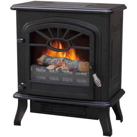 electric fireplace heater walmart infrared stove heater black walmart