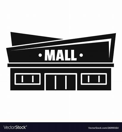 Mall Icon Simple Facade