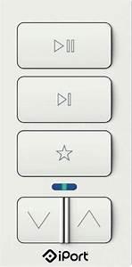 Iport Xpress Audio Keypad For Sonos White Xpress Keypad