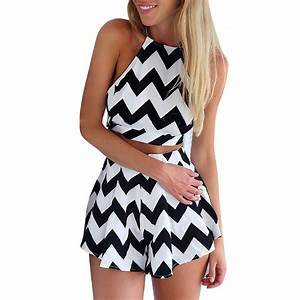 Hot sale 2015 Black White Patchwork pantskirt Summer Sexy ...